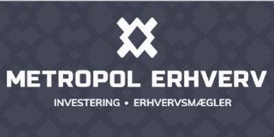 Metropol Erhverv's Logo