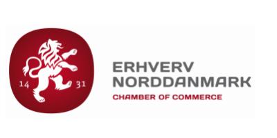 Erhverv Norddanmark's Logo